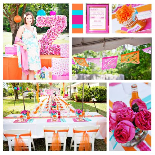 Girl Baby Shower Themes 500 x 500