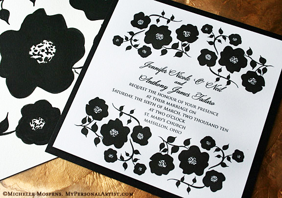 black and white wedding invitations wedding invitations ideas