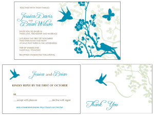 Vintage Wedding Invitations png