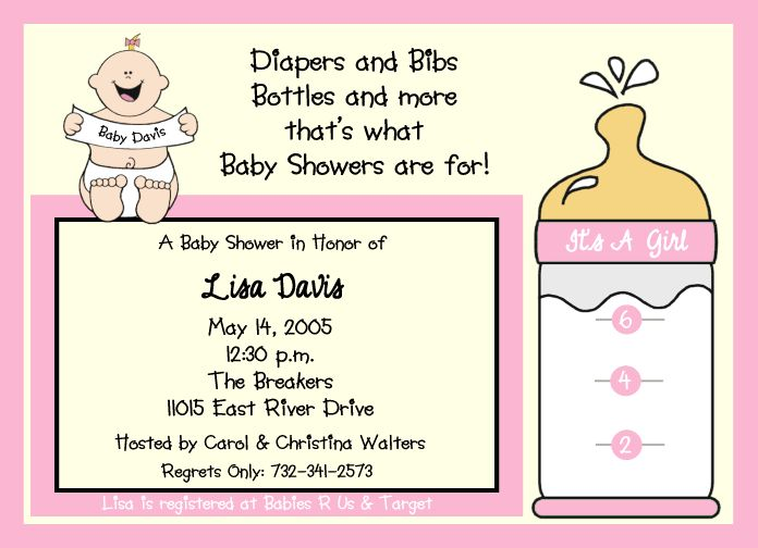 Order Baby Shower Invitations Online for best invitation sample