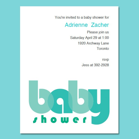 Baby Shower Invitation Online is great invitations template