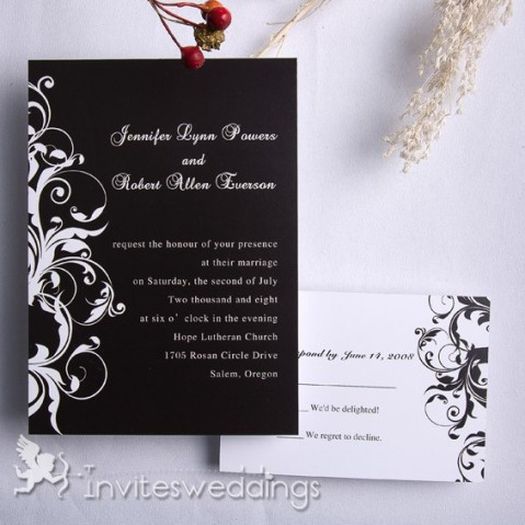 Capable-White-And-Black-Wedding-Invitation